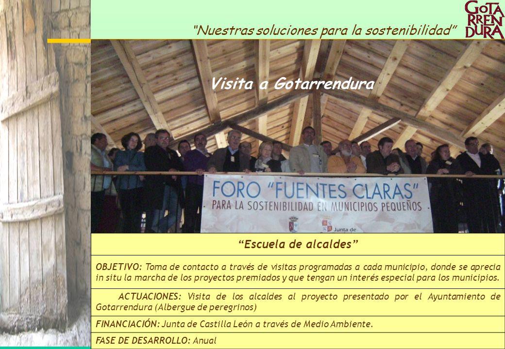 Visita a Gotarrendura Escuela de alcaldes
