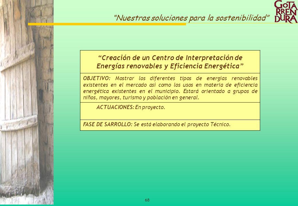 Creación de un Centro de Interpretación de Energías renovables y Eficiencia Energética