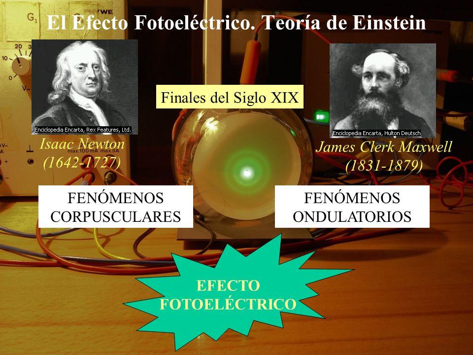El Efecto Fotoeléctrico. Teoría de Einstein