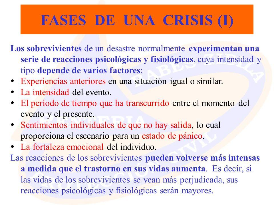 FASES DE UNA CRISIS (I)