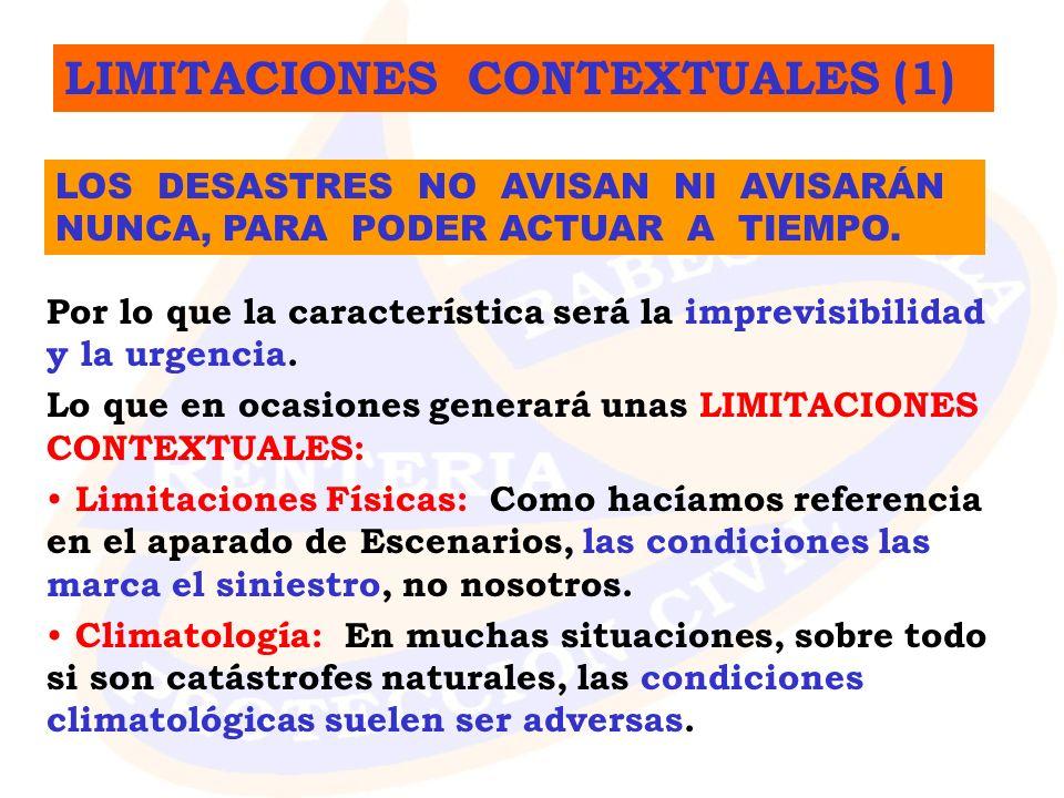 LIMITACIONES CONTEXTUALES (1)
