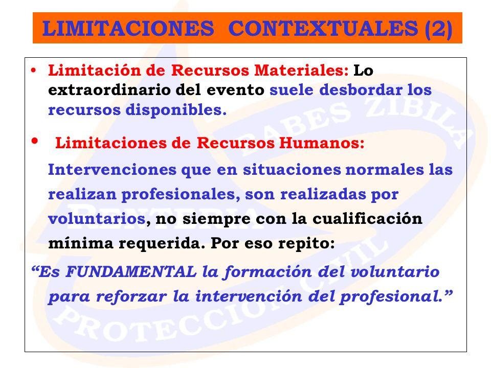 LIMITACIONES CONTEXTUALES (2)