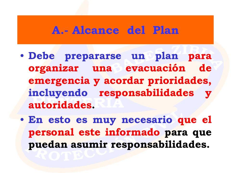 A.- Alcance del Plan