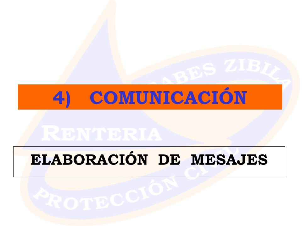 ELABORACIÓN DE MESAJES