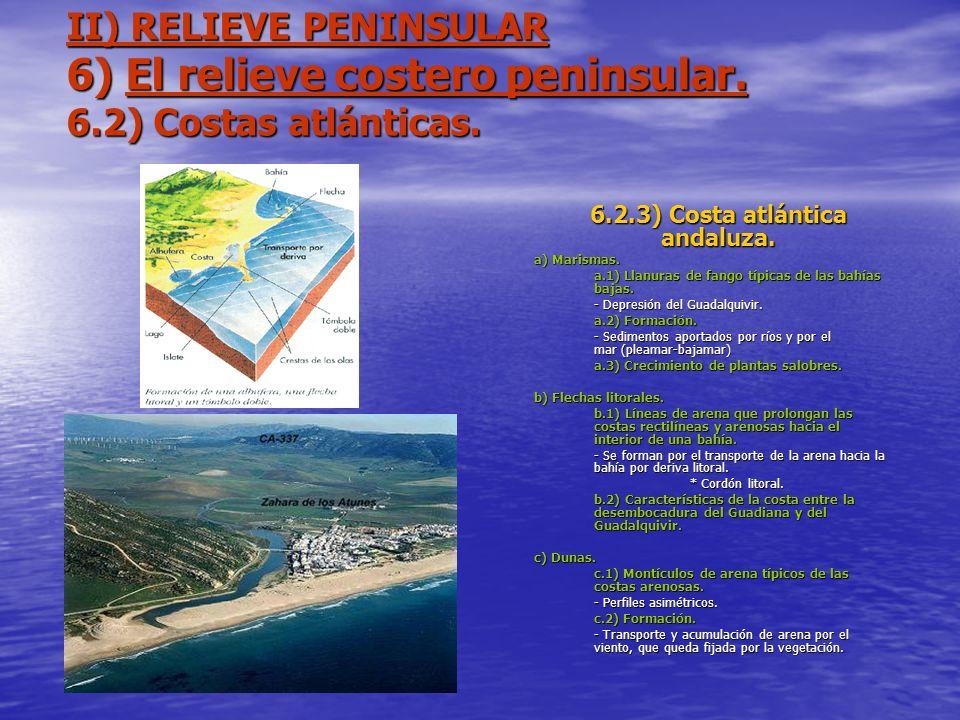 6.2.3) Costa atlántica andaluza.