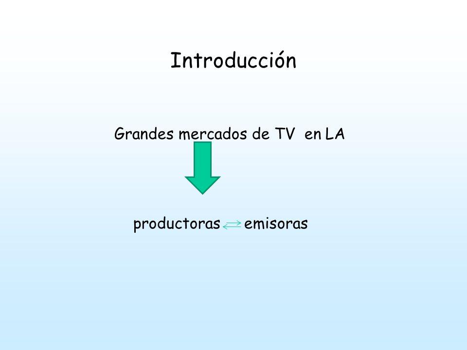 Grandes mercados de TV en LA