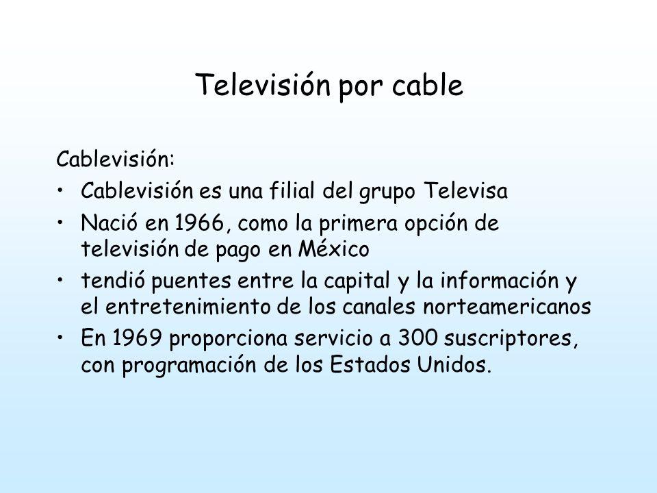 Televisión por cable Cablevisión:
