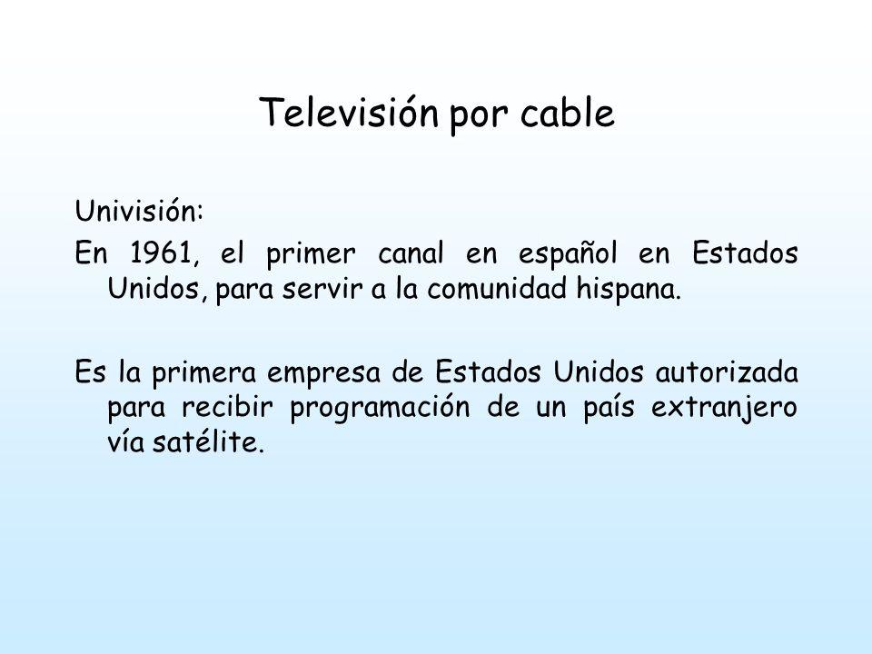 Televisión por cable Univisión: