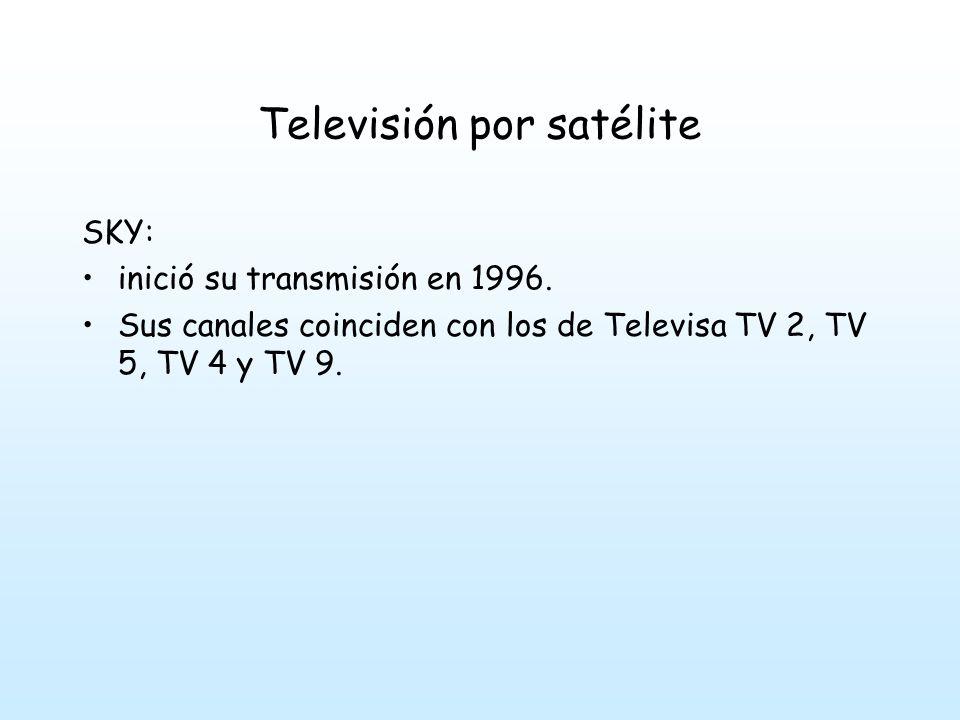 Televisión por satélite