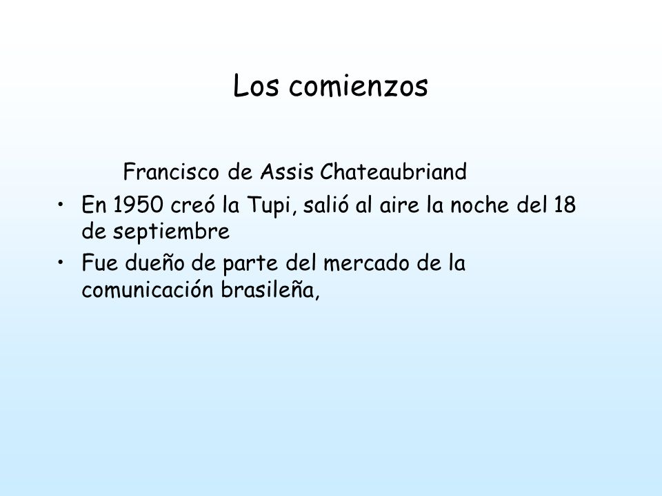 Francisco de Assis Chateaubriand