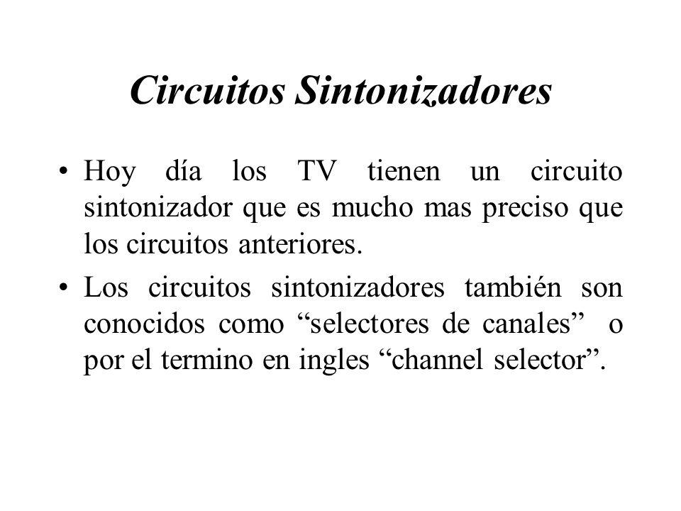 Circuitos Sintonizadores