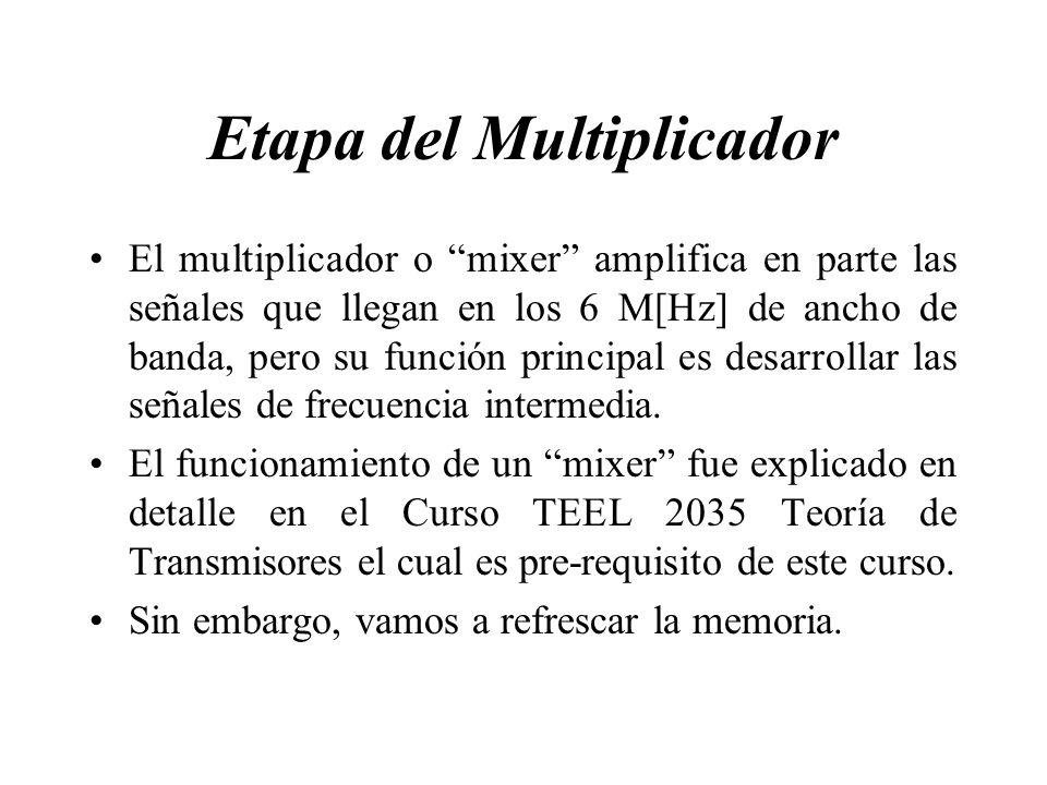 Etapa del Multiplicador