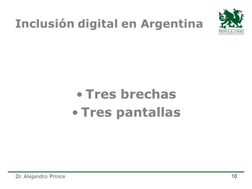 Inclusión digital en Argentina