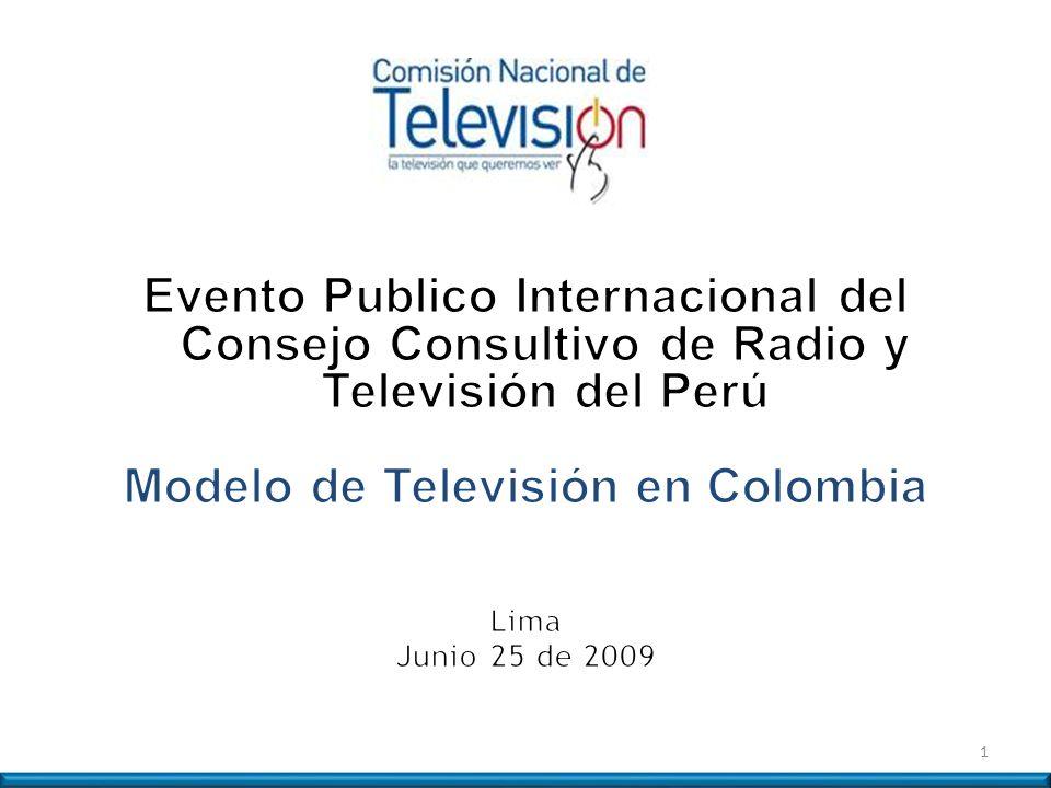 Modelo de Televisión en Colombia