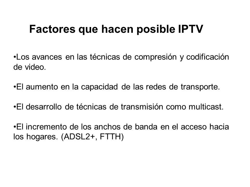 Factores que hacen posible IPTV