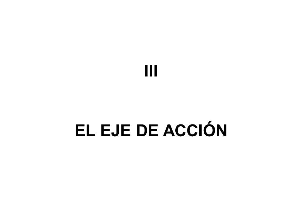 III EL EJE DE ACCIÓN