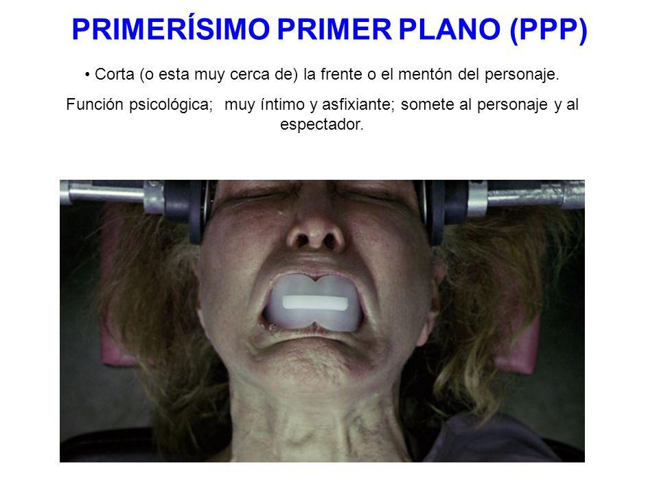 PRIMERÍSIMO PRIMER PLANO (PPP)