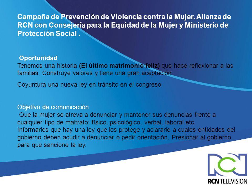 Campaña de Prevención de Violencia contra la Mujer