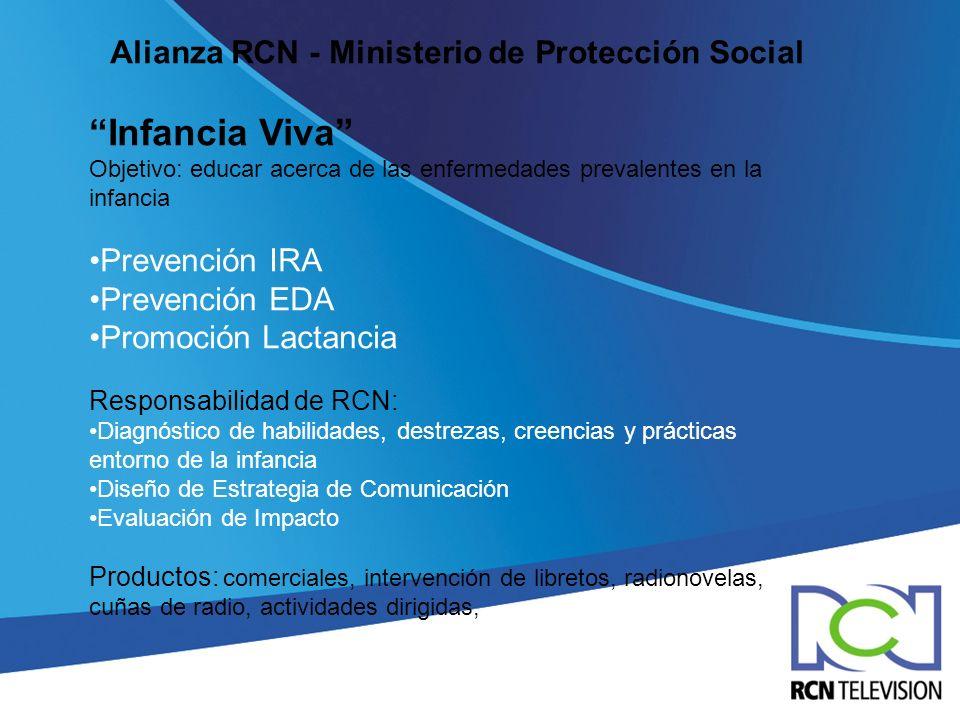 Alianza RCN - Ministerio de Protección Social