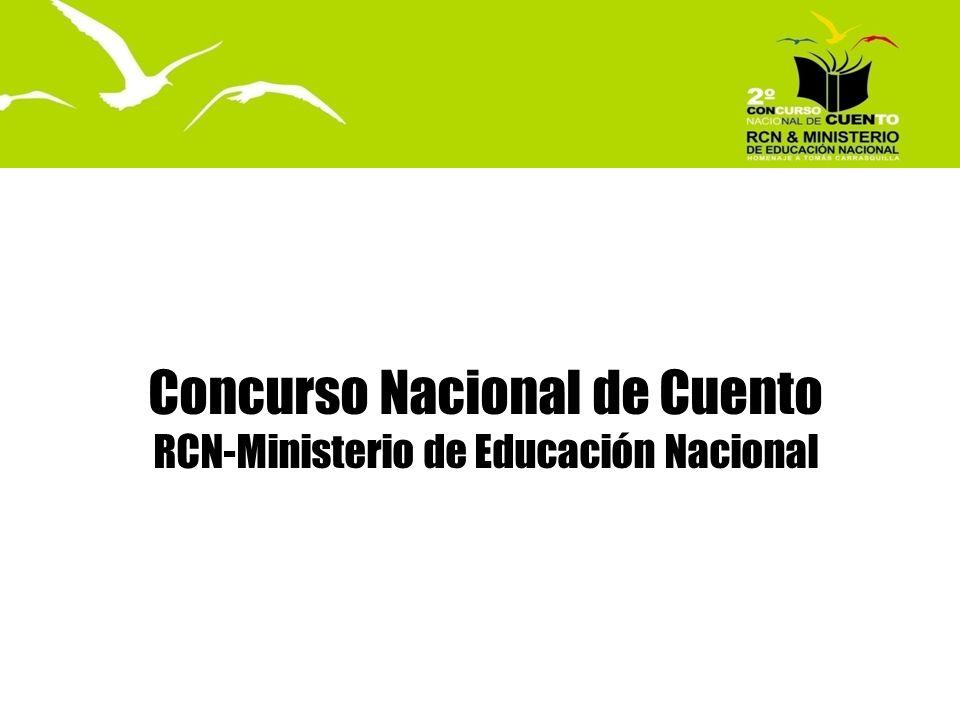 Concurso Nacional de Cuento