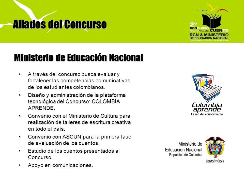 Aliados del Concurso Ministerio de Educación Nacional