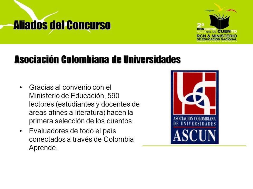 Aliados del Concurso Asociación Colombiana de Universidades
