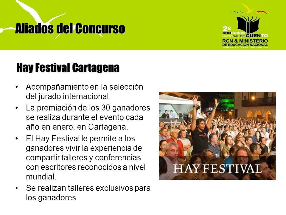 Aliados del Concurso Hay Festival Cartagena