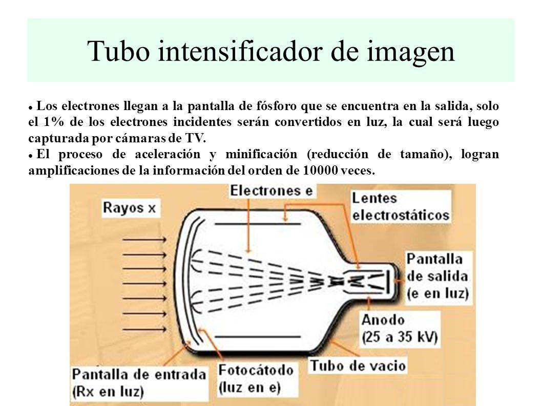 Tubo intensificador de imagen
