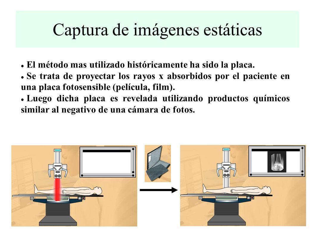 Captura de imágenes estáticas