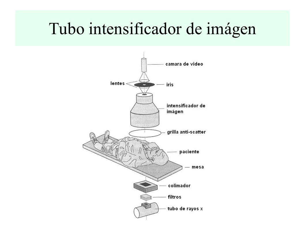 Tubo intensificador de imágen