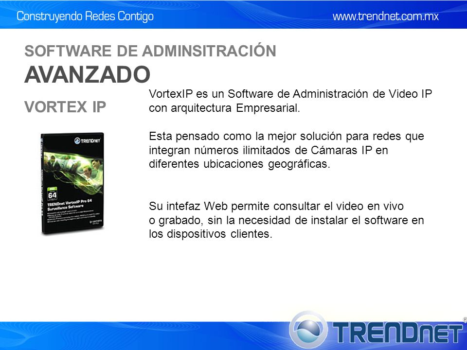 SOFTWARE DE ADMINSITRACIÓN AVANZADO