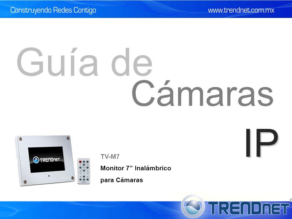 Guía de Cámaras IP TV-M7 Monitor 7 Inalámbrico para Cámaras 55