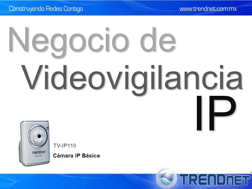 Negocio de Videovigilancia IP TV-IP110 Cámara IP Básica 9