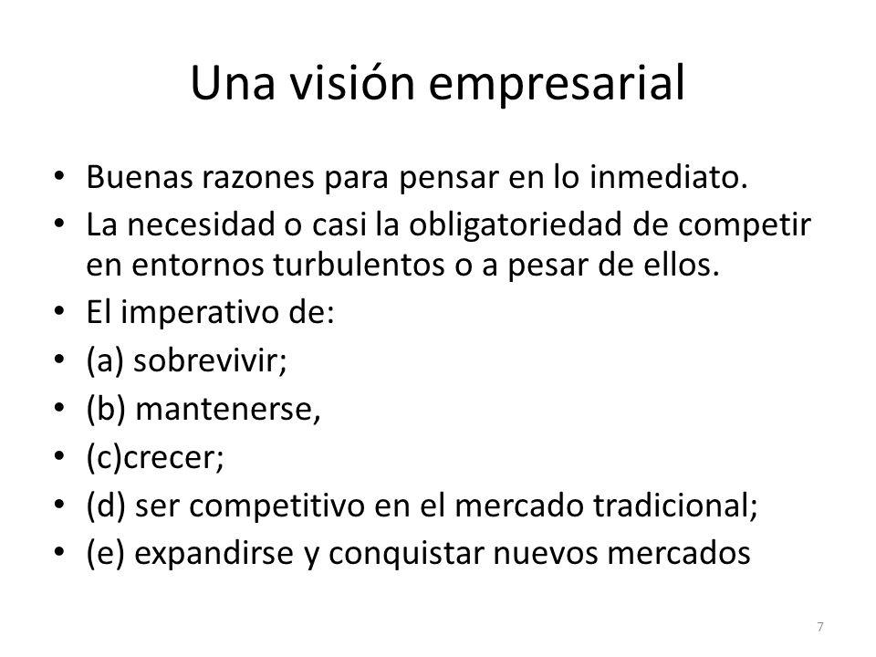 Una visión empresarial