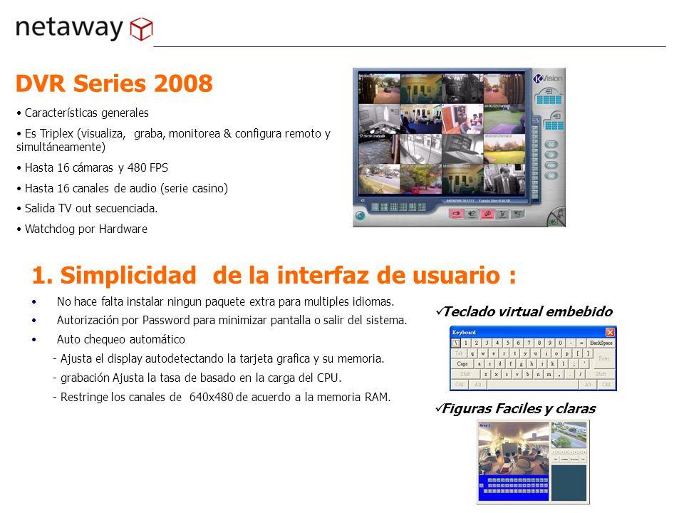 1. Simplicidad de la interfaz de usuario :