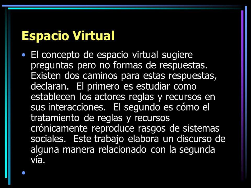 Espacio Virtual