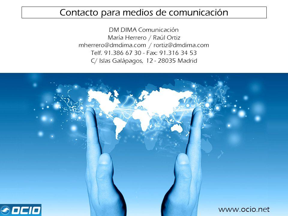 Contacto para medios de comunicación