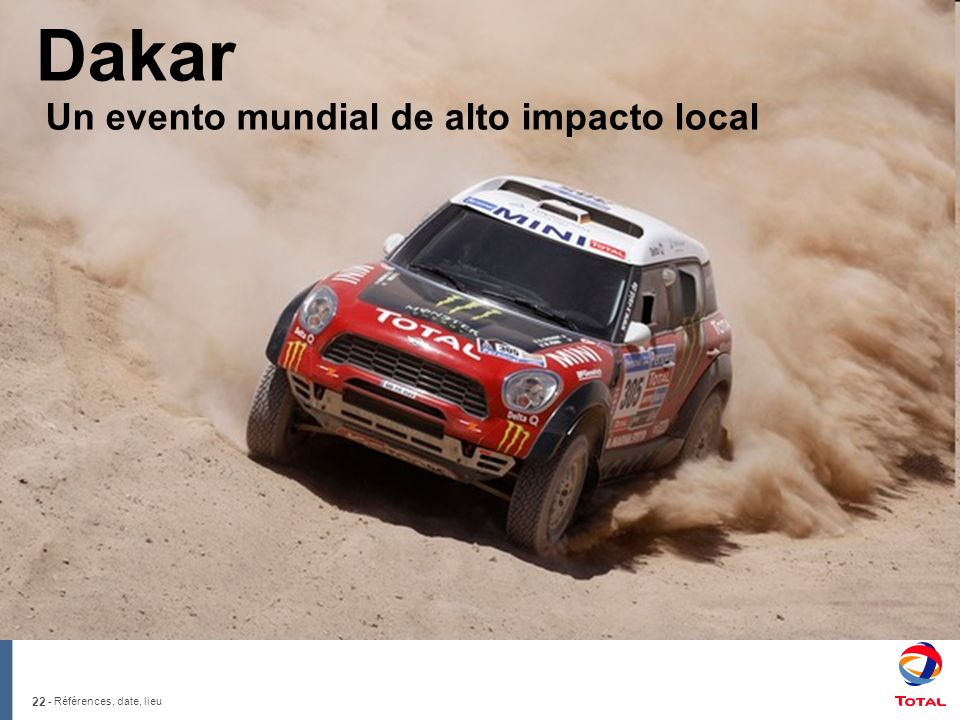 Dakar Un evento mundial de alto impacto local