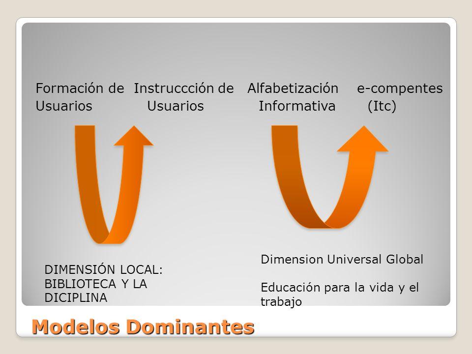 Formación de Instruccción de Alfabetización e-compentes Usuarios Usuarios Informativa (Itc)