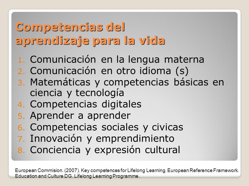 Competencias del aprendizaje para la vida