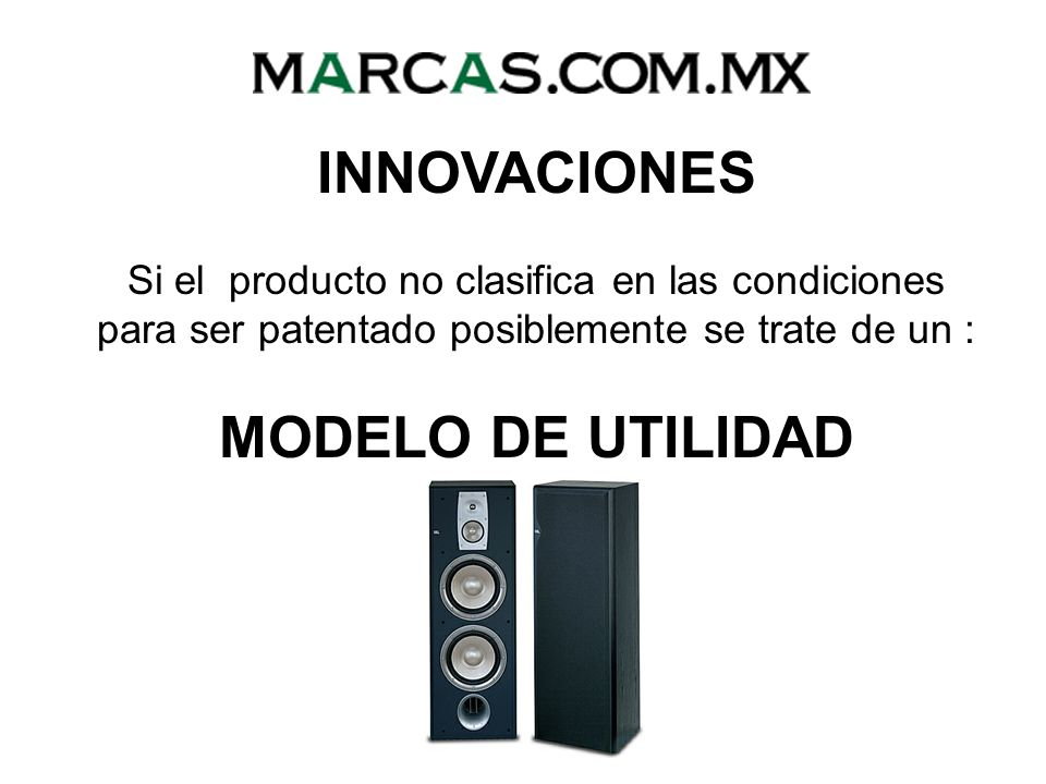 INNOVACIONES MODELO DE UTILIDAD