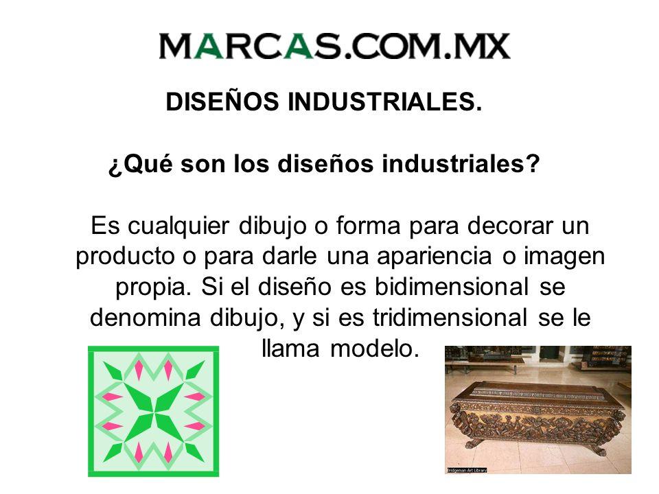 ¿Qué son los diseños industriales