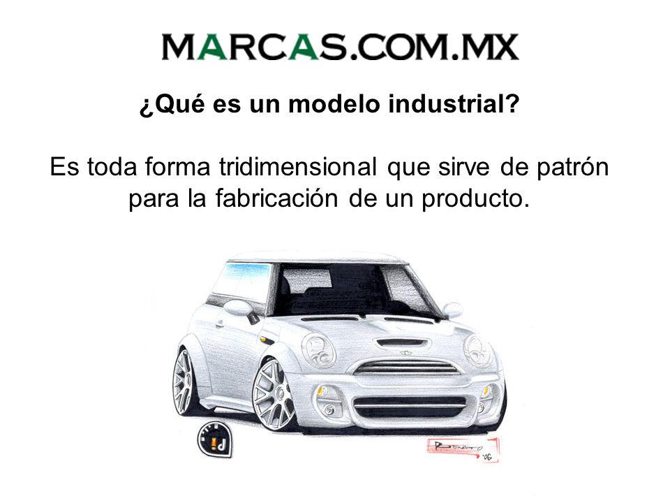 ¿Qué es un modelo industrial