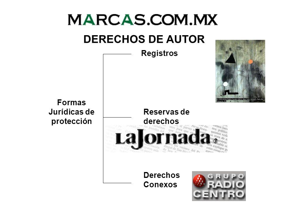 Formas Jurídicas de protección