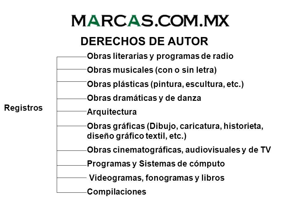 DERECHOS DE AUTOR Obras literarias y programas de radio