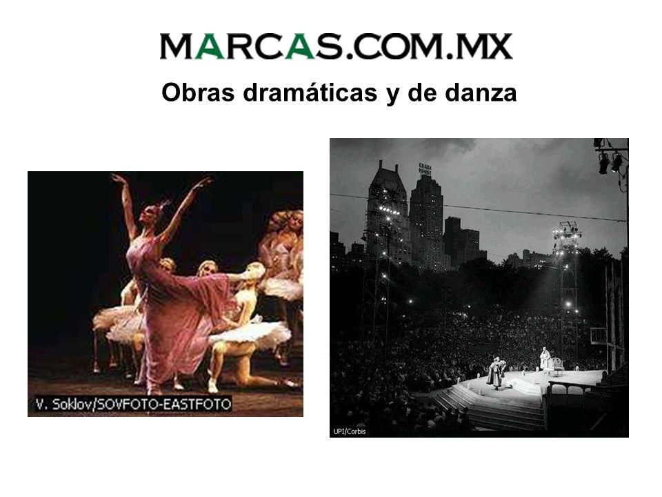 Obras dramáticas y de danza