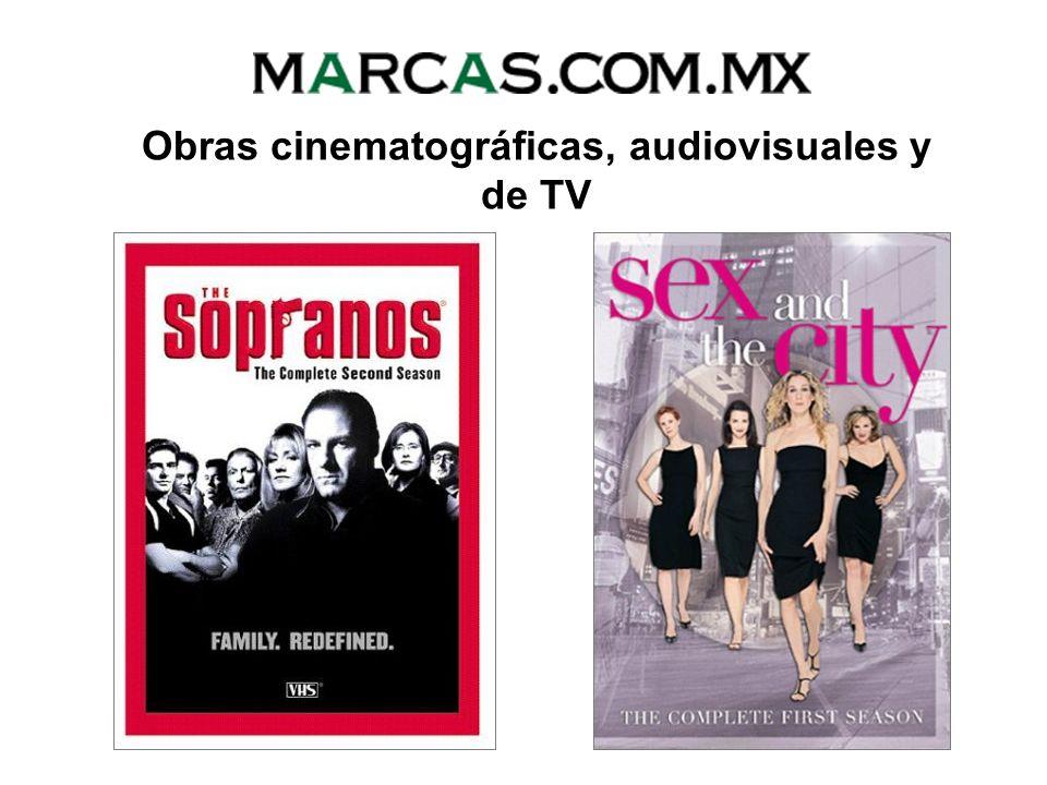Obras cinematográficas, audiovisuales y de TV