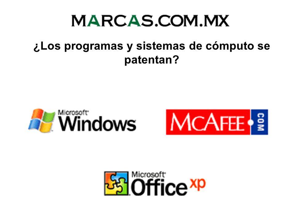 ¿Los programas y sistemas de cómputo se patentan