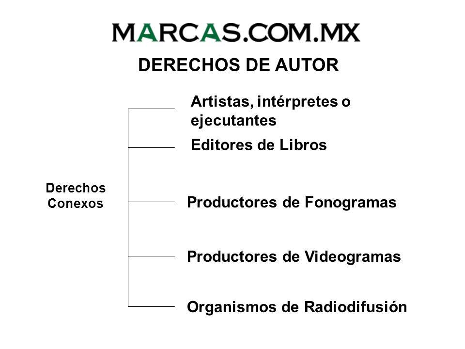 DERECHOS DE AUTOR Artistas, intérpretes o ejecutantes