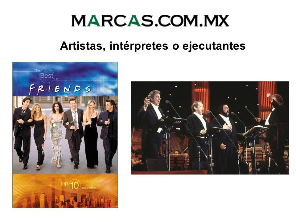 Artistas, intérpretes o ejecutantes